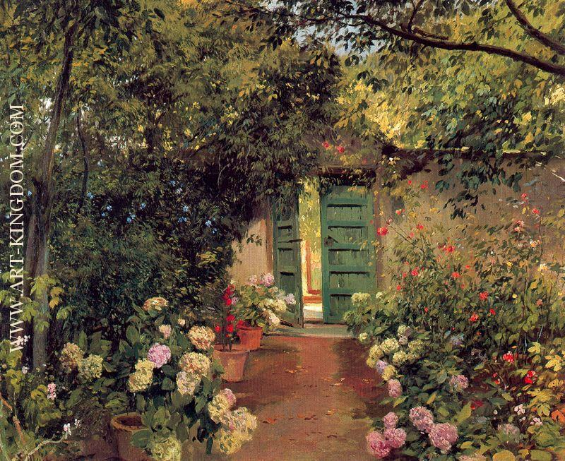 Eliseo meifren i roig oil paintings reproduction and - Jardines interiores ...